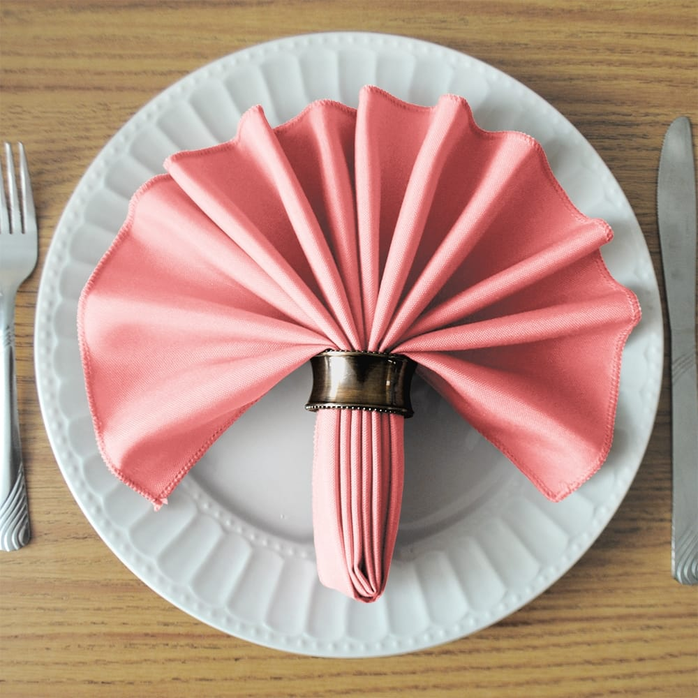 Pink SimplyPoly Cloth Napkins