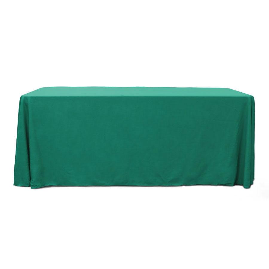Dark Teal 6 ft. Floor Length  Rectangular SimplyPoly Tablecloths