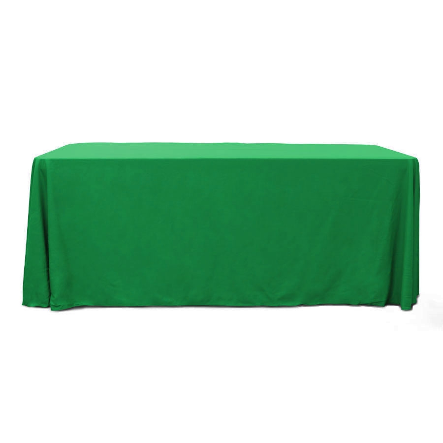 Emerald 6 ft. Floor Length  Rectangular SimplyPoly Tablecloths