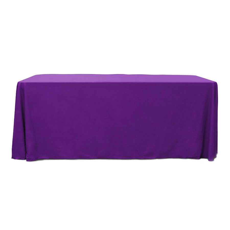 Purple 6 ft. Floor Length  Rectangular SimplyPoly Tablecloths