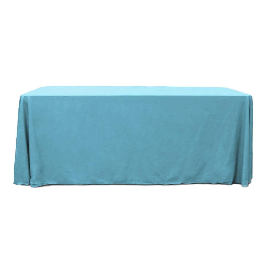 Sky Blue 6 ft. Floor Length Rectangular SimplyPoly Tablecloths