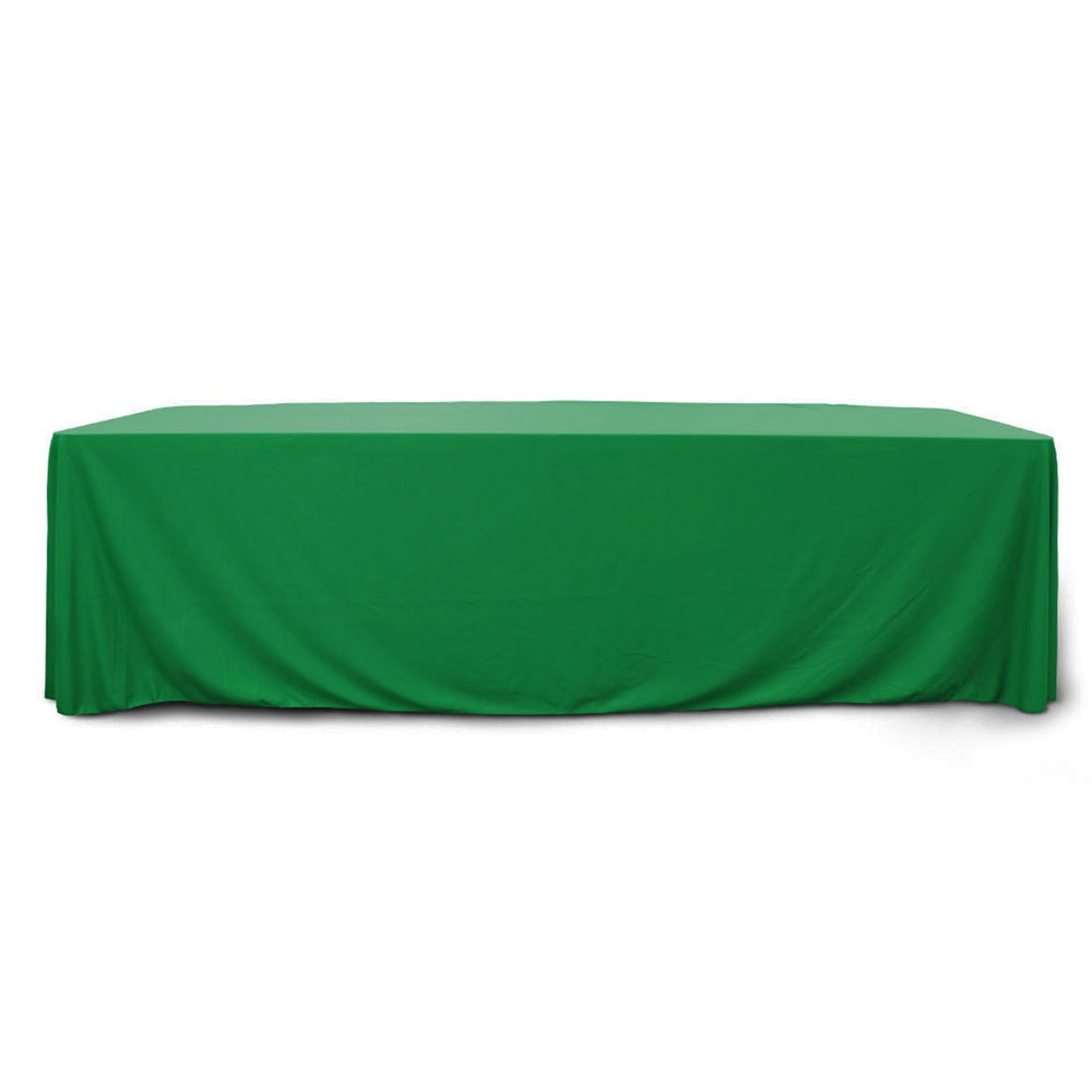Emerald 8 ft. Floor Length  Rectangular SimplyPoly Tablecloths