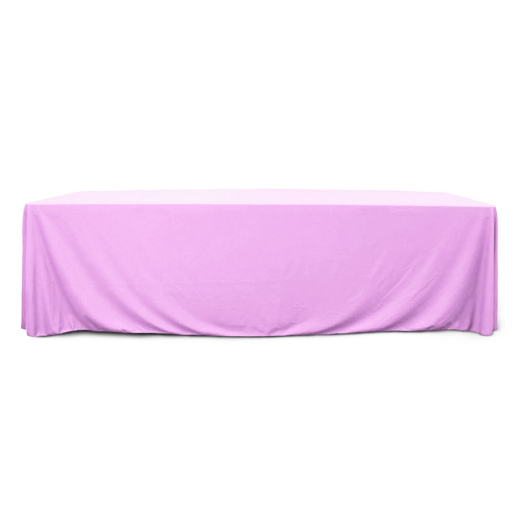Lavender 8 ft. Floor Length Rectangular SimplyPoly Tablecloths