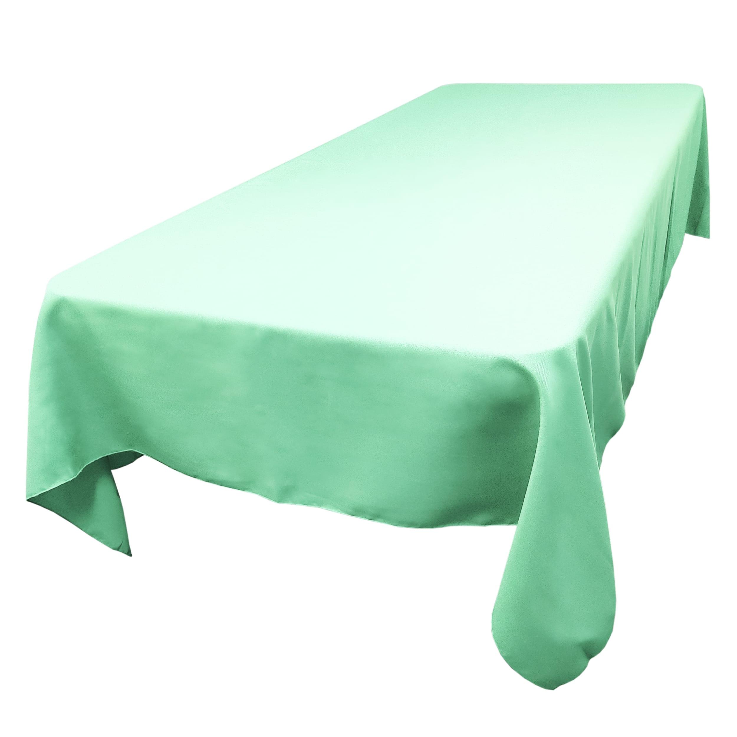 Aqua 60 x 144 in.  Rectangular SimplyPoly Tablecloths