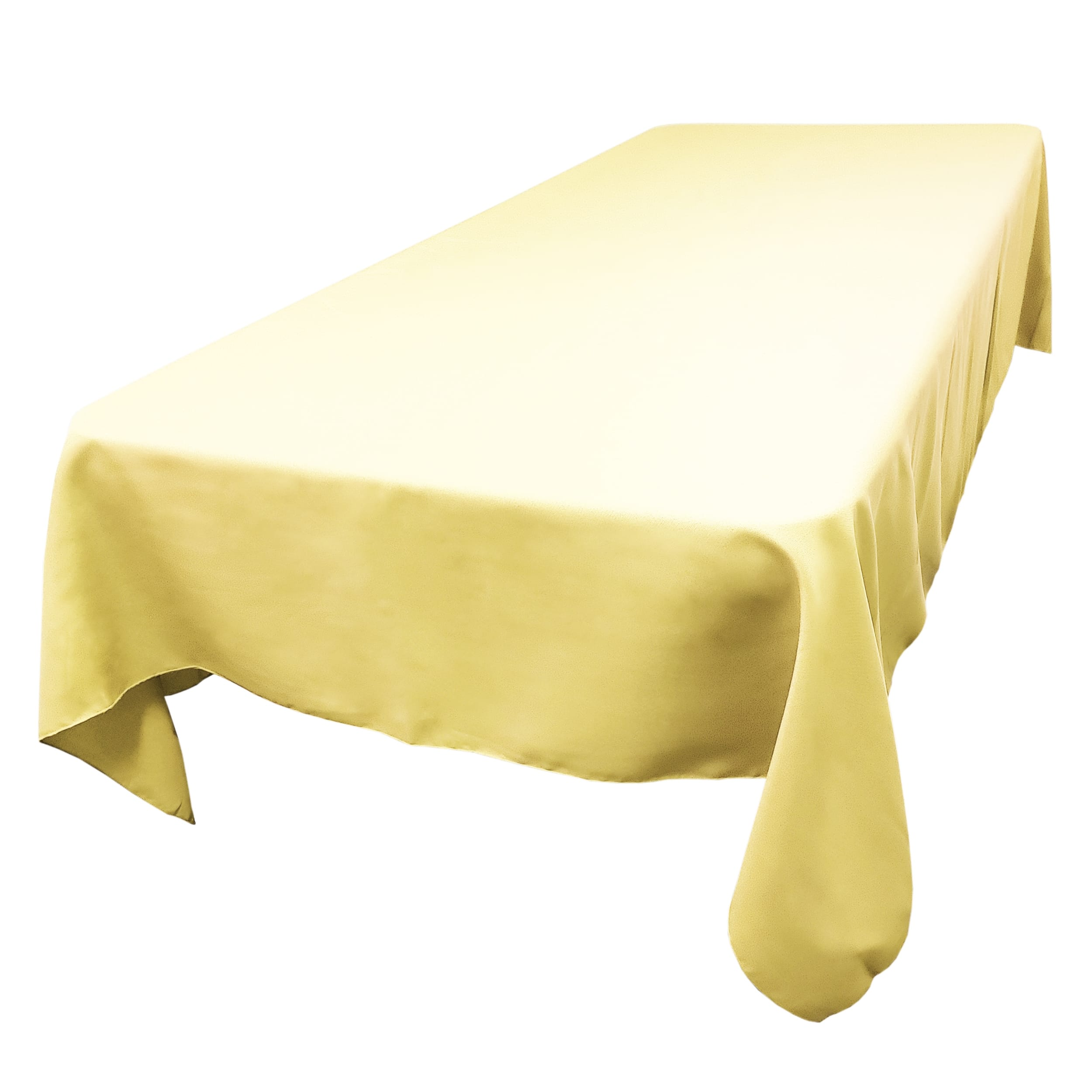Butter 72 x 120 in.  Rectangular SimplyPoly Tablecloths