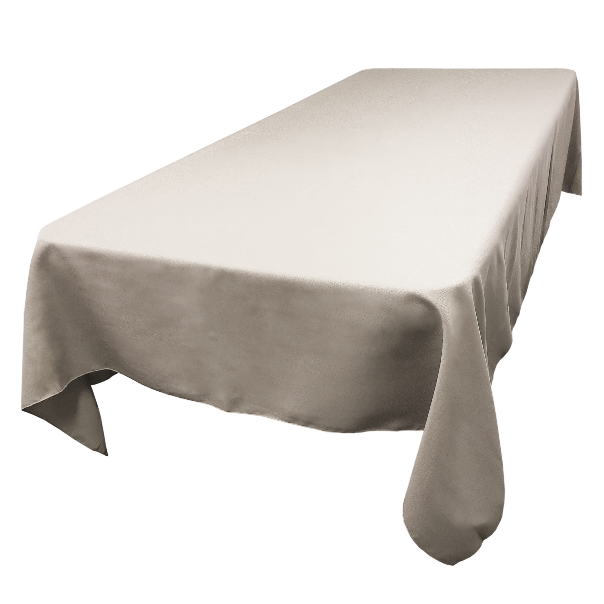 Charcoal 72 x 120 in.  Rectangular SimplyPoly Tablecloths