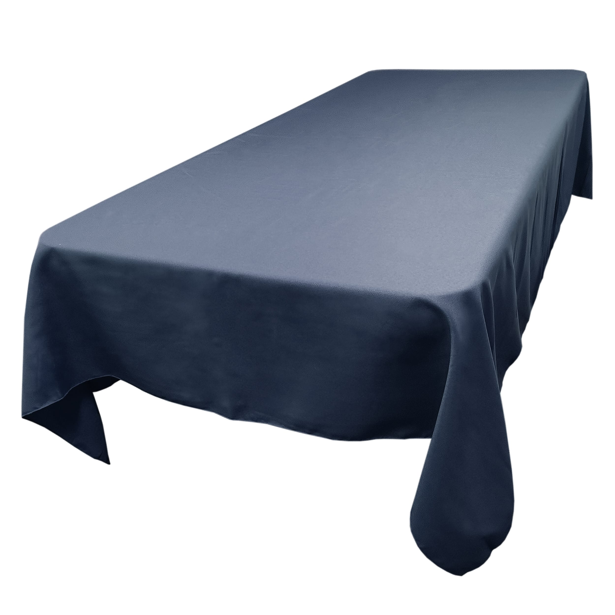 Dark Blue 60 x 120 in.  Rectangular SimplyPoly Tablecloths