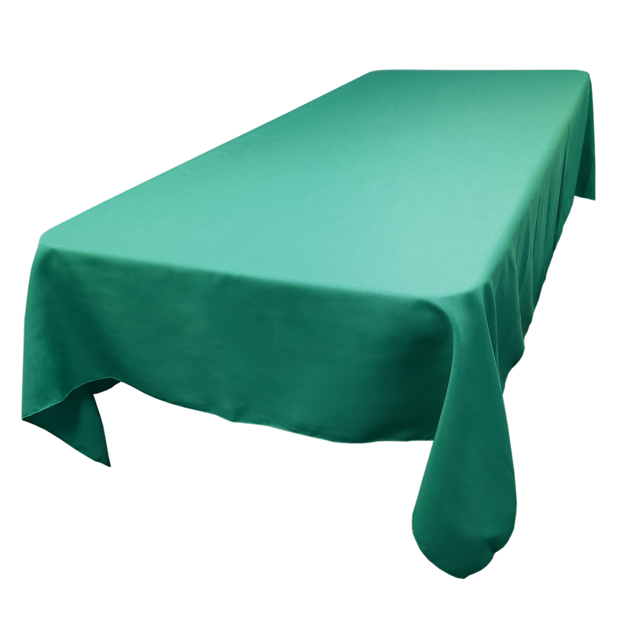 Dark Teal 60 x 108 in.  Rectangular SimplyPoly Tablecloths