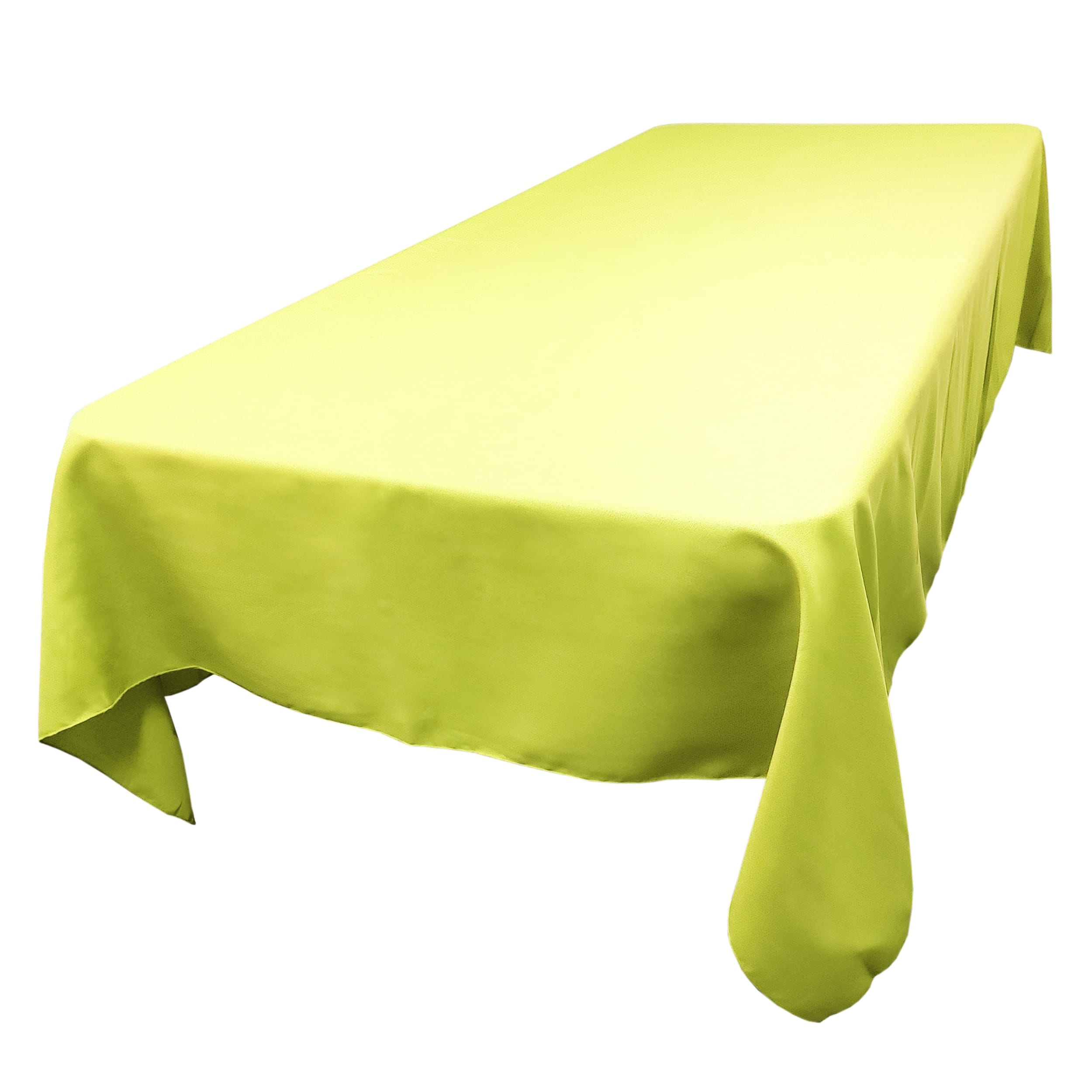 Green Apple 72 x 108 in.  Rectangular SimplyPoly Tablecloths
