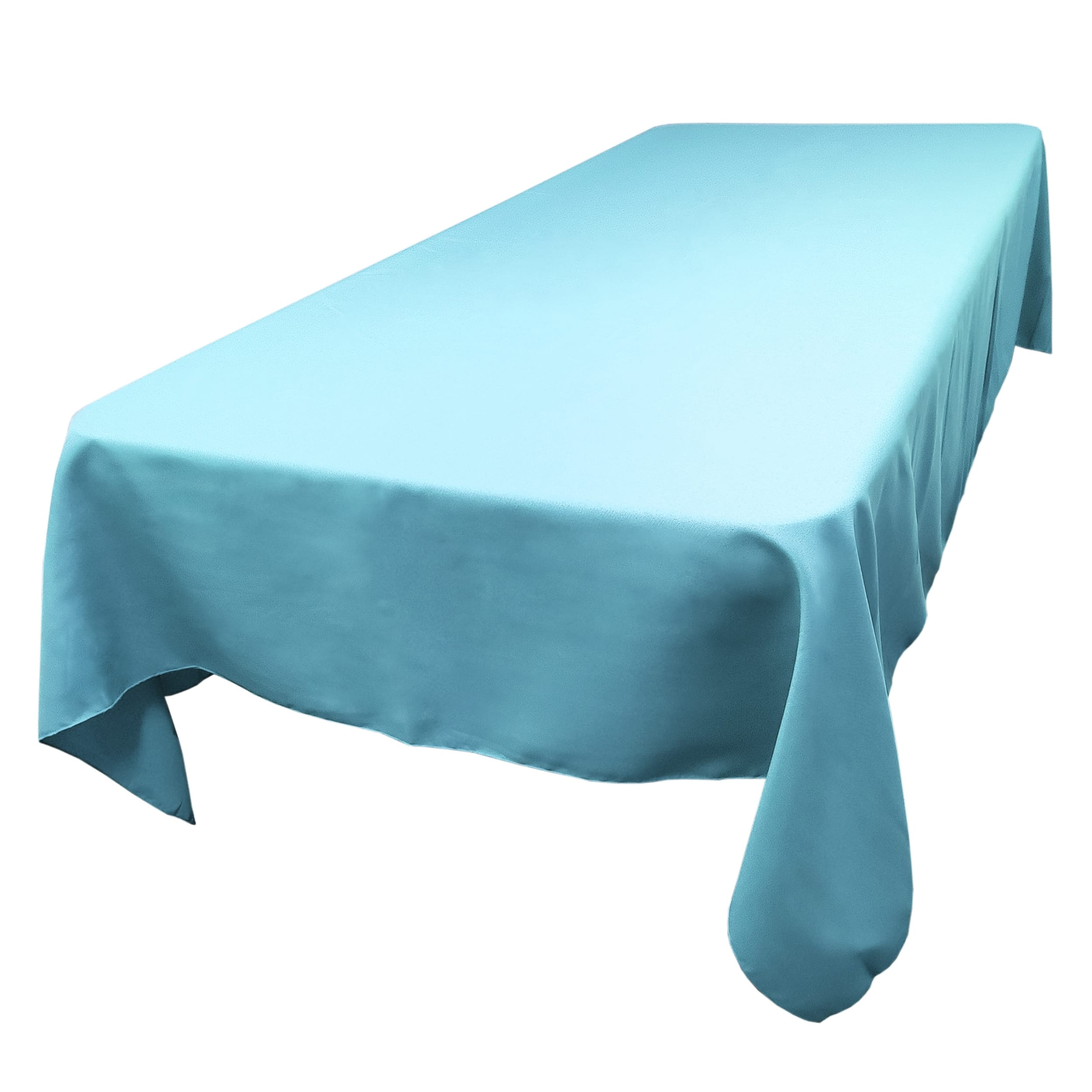 Sky Blue 72 x 108 in.  Rectangular SimplyPoly Tablecloths