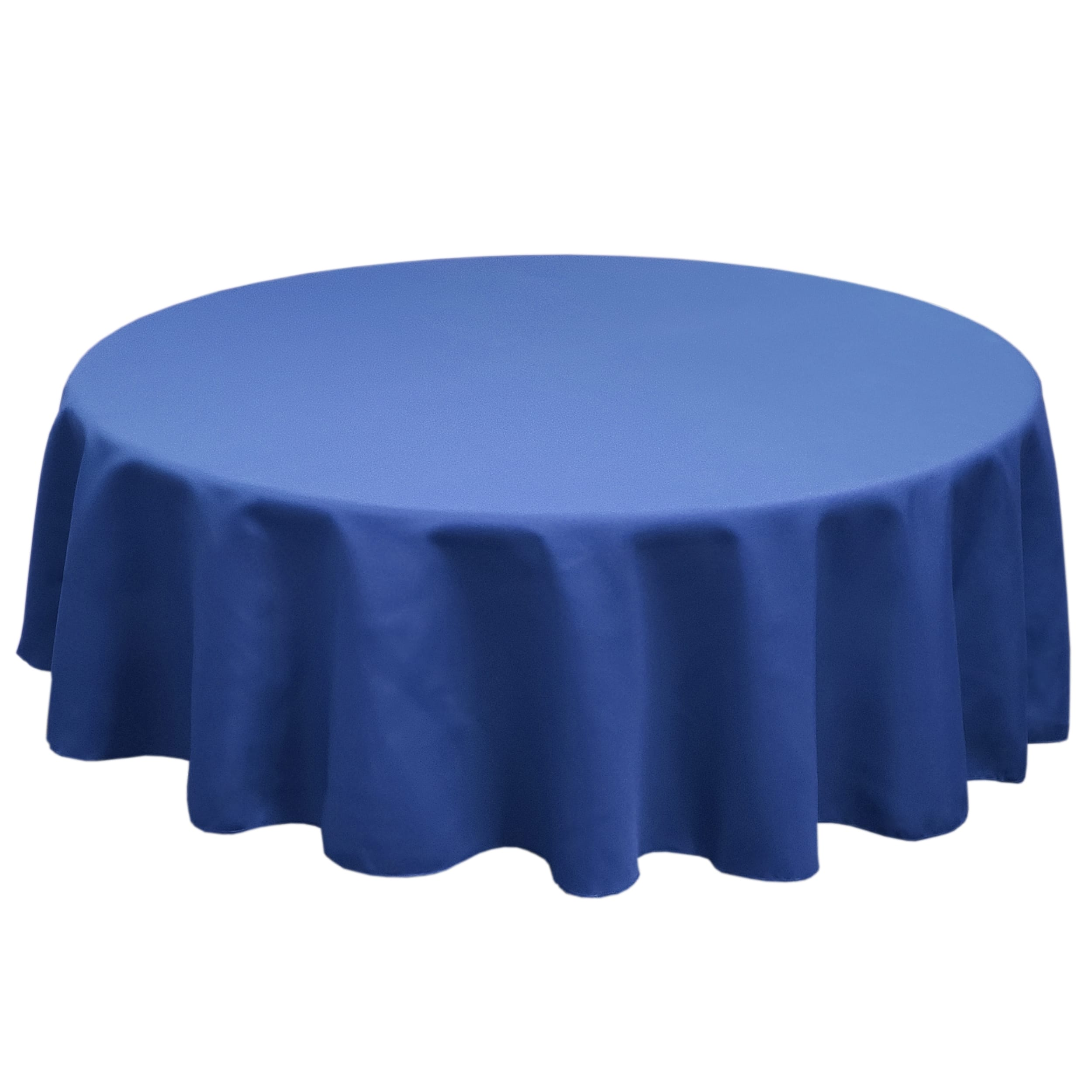 Royal 126 in.  Round SimplyPoly Tablecloths
