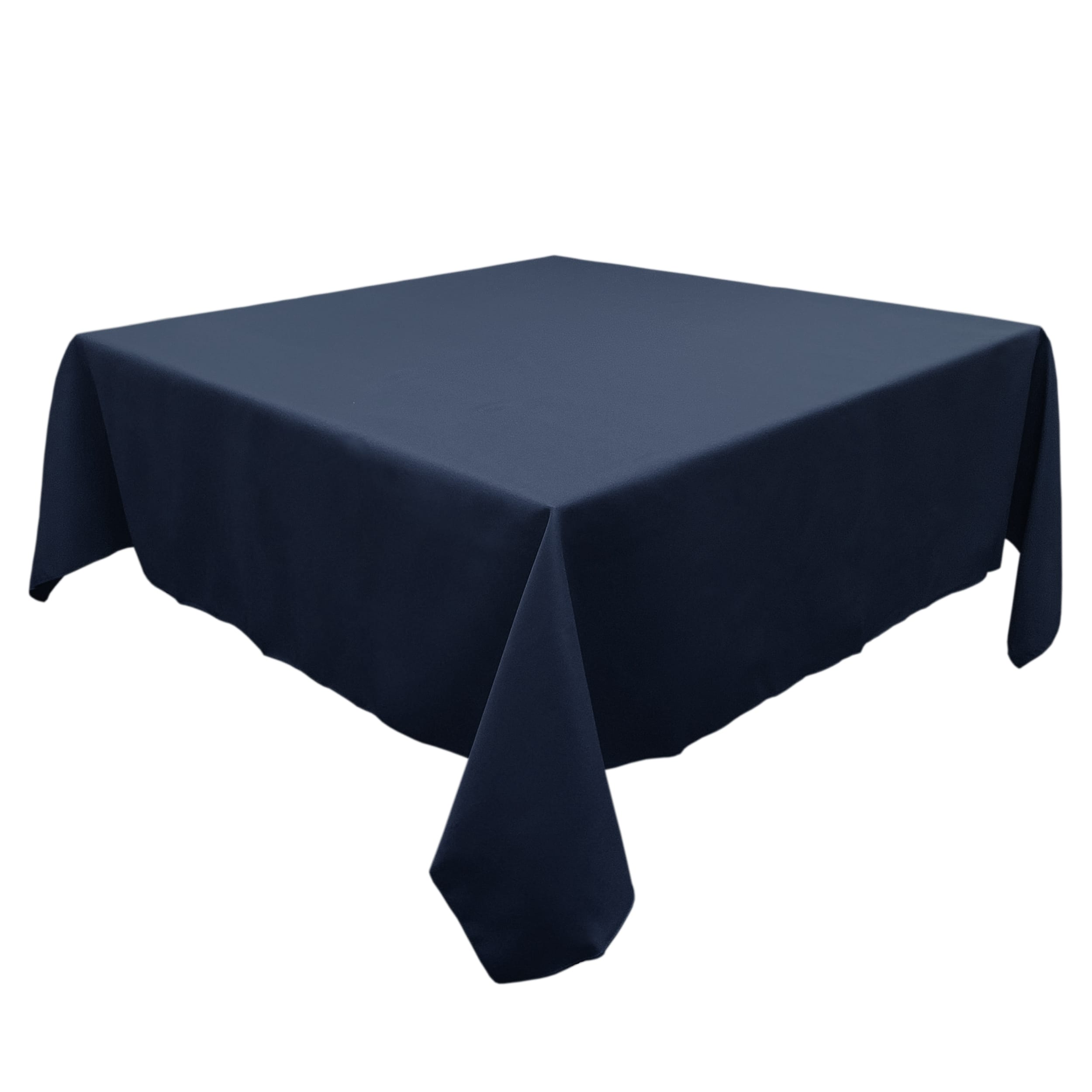 Dark Blue 60 in.  Square SimplyPoly Tablecloths