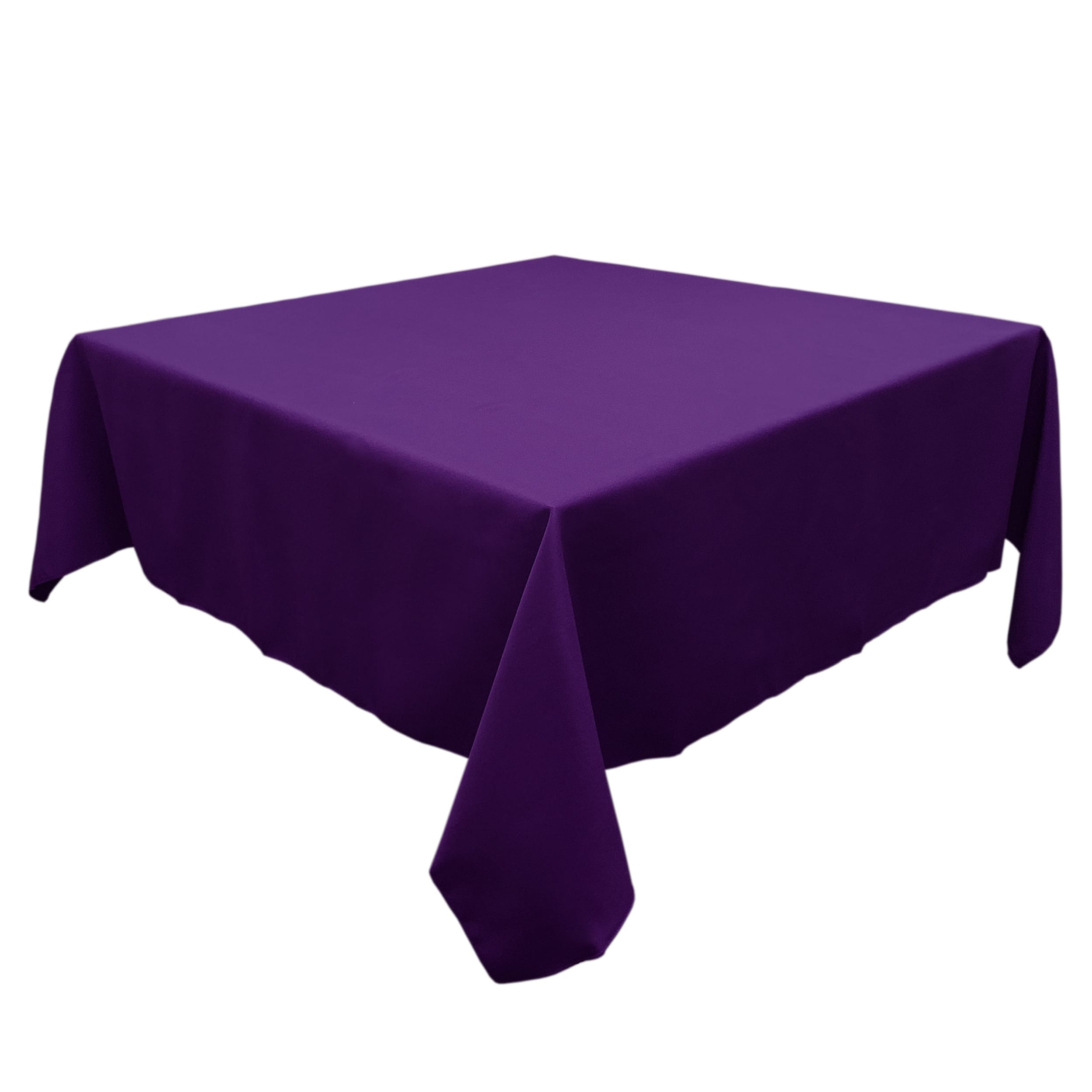 Eggplant 54 in.  Square SimplyPoly Tablecloths