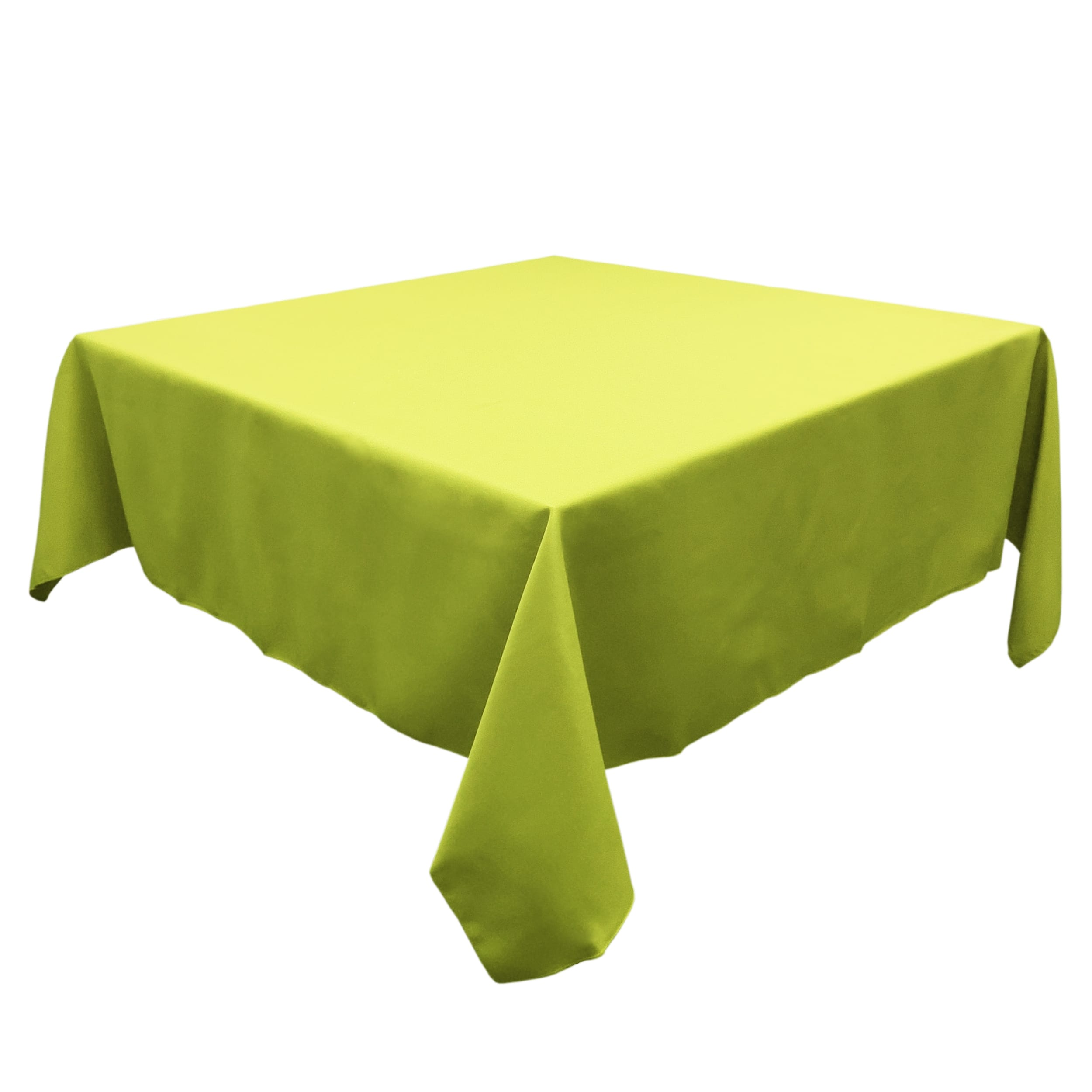 Green Apple 45 in.  Square SimplyPoly Tablecloths