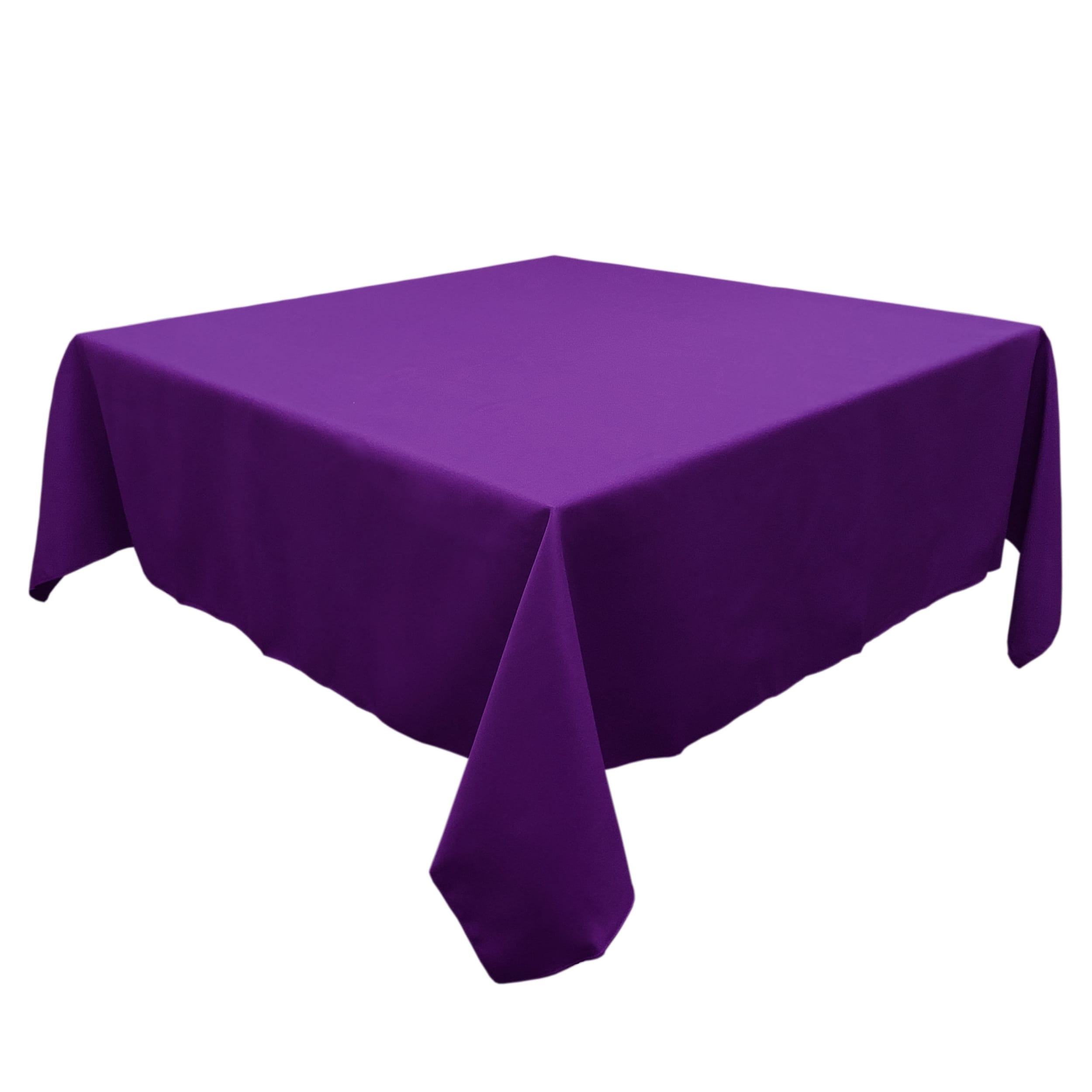 Purple 54 in.  Square SimplyPoly Tablecloths