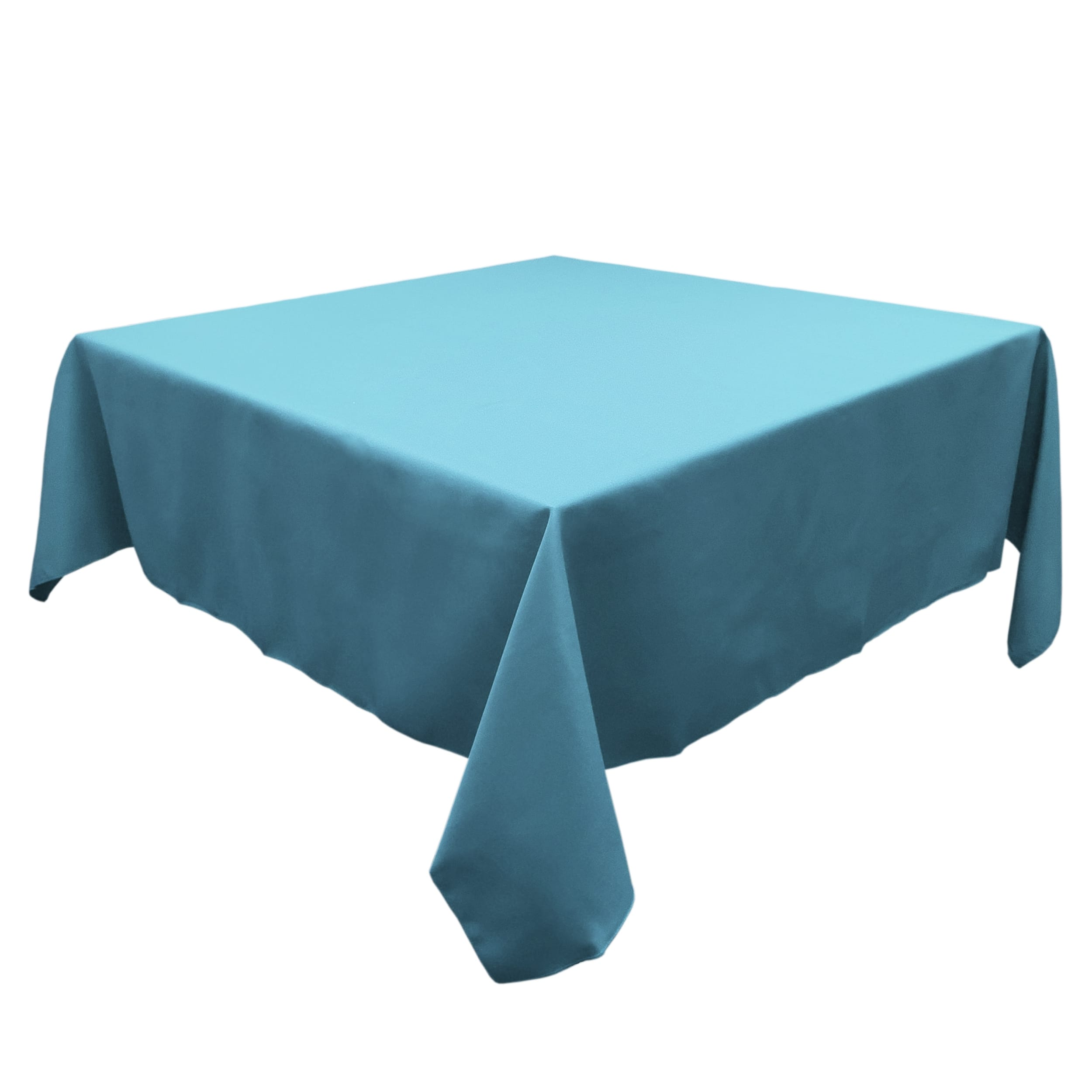 Sky Blue 45 in.  Square SimplyPoly Tablecloths