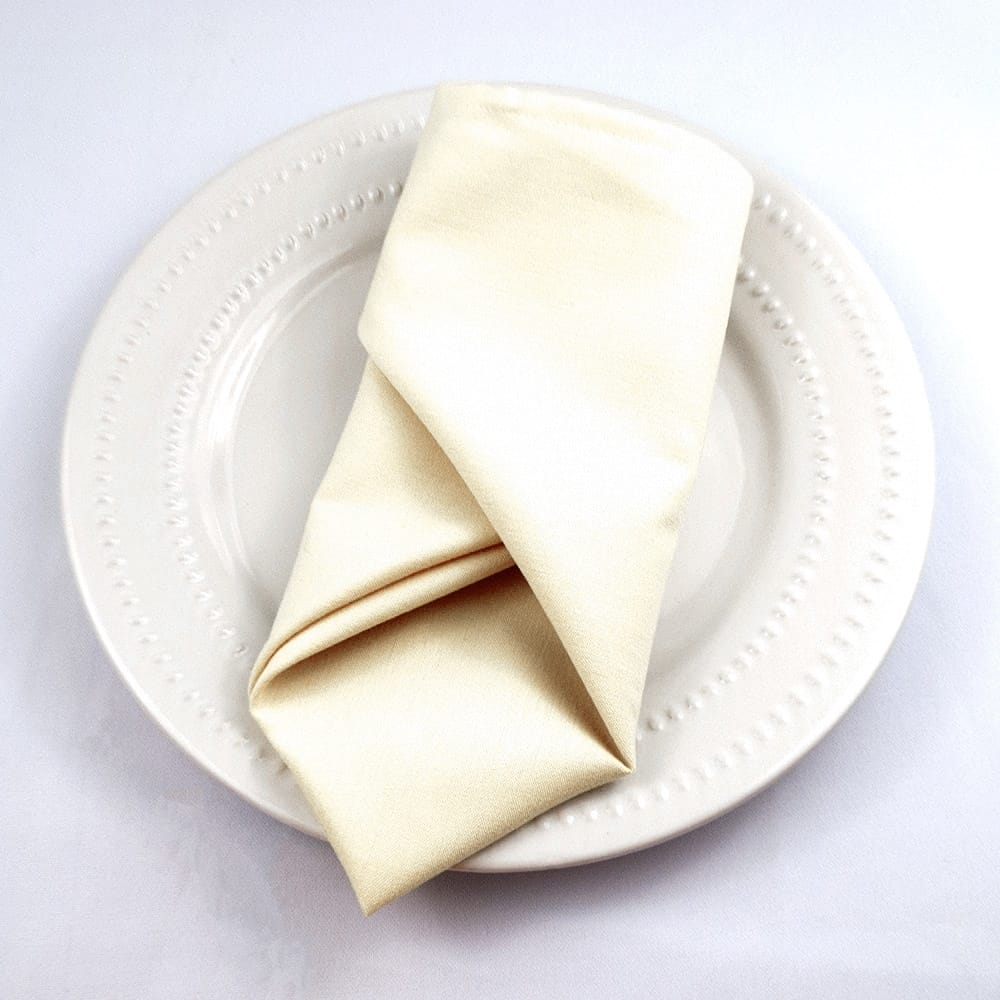 Ivory Clearance Cloth Napkins