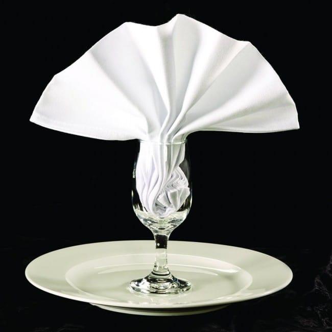 White Clearance Cloth Napkins