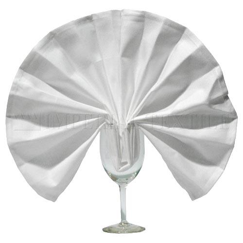 White Maxi-Spun Napkins