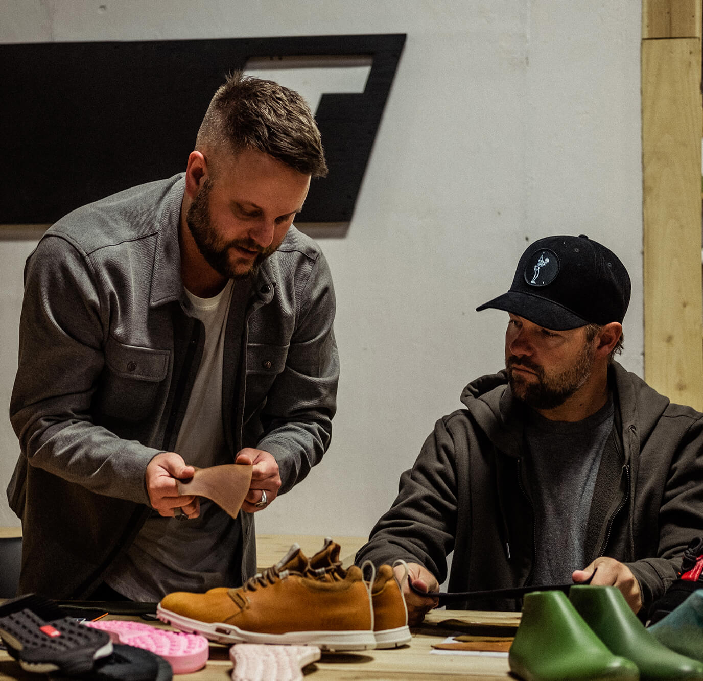 TRUE HQ Jason and Ryan Moore Shoe Development