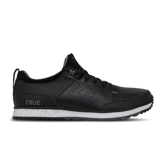 Black TRUE Outsider full shoe side view