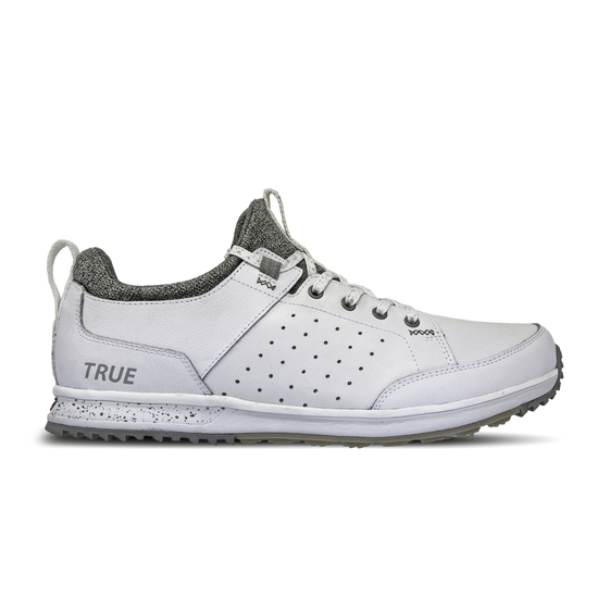 White TRUE Outsider full shoe side view
