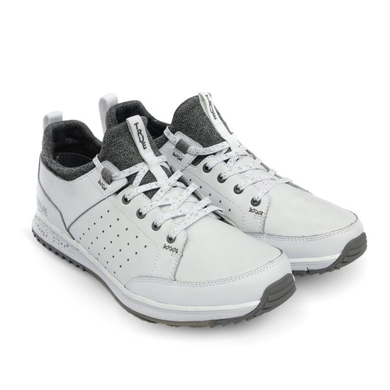 White TRUE Outsider full shoe dual pair side view