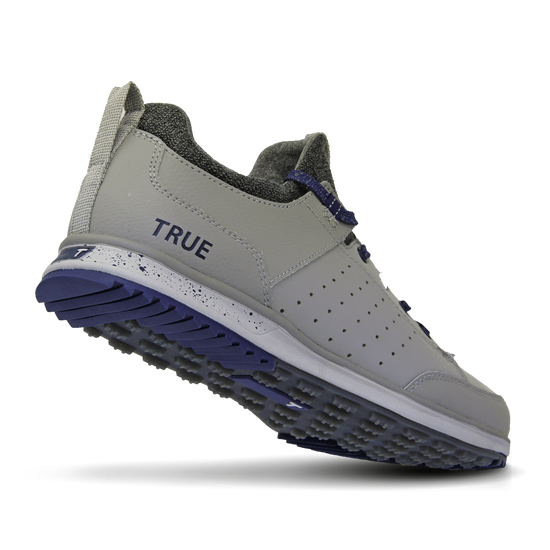 Grey Navy TRUE Outsider full shoe heel flex