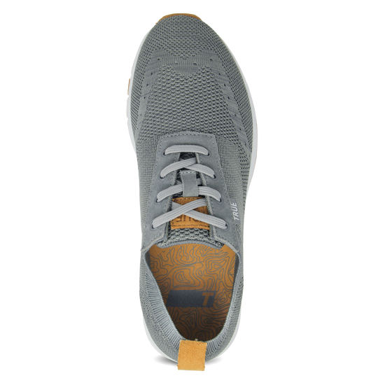 Stone grey TRUE Knit full shoe top insert view