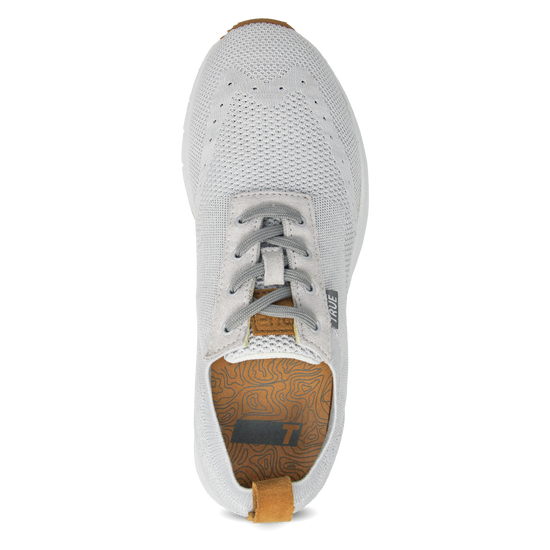 White Women's Knit full shoe top view