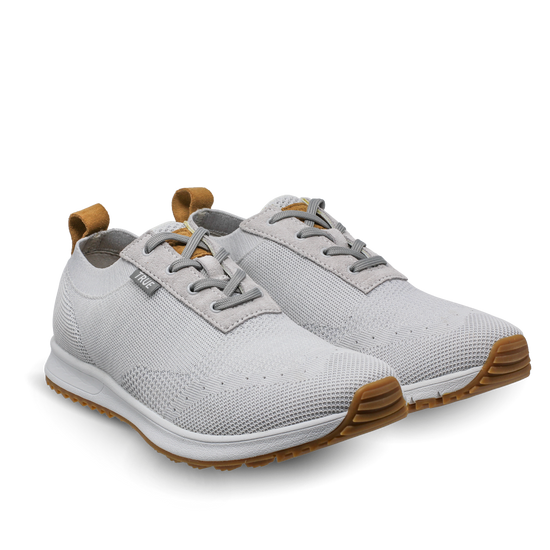 White Women's Knit dual shoes side view