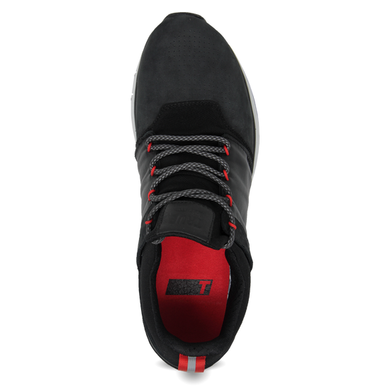 Open Black TRUE Major Full Shoe Single Shoe Aerial View