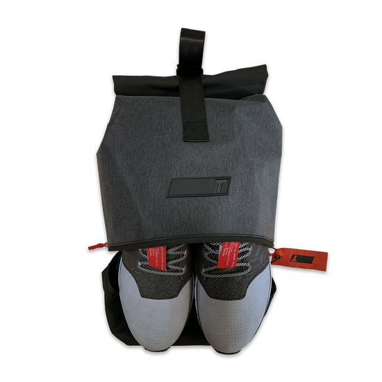 US Greys TRUE Major Shoe Bag Aerial View