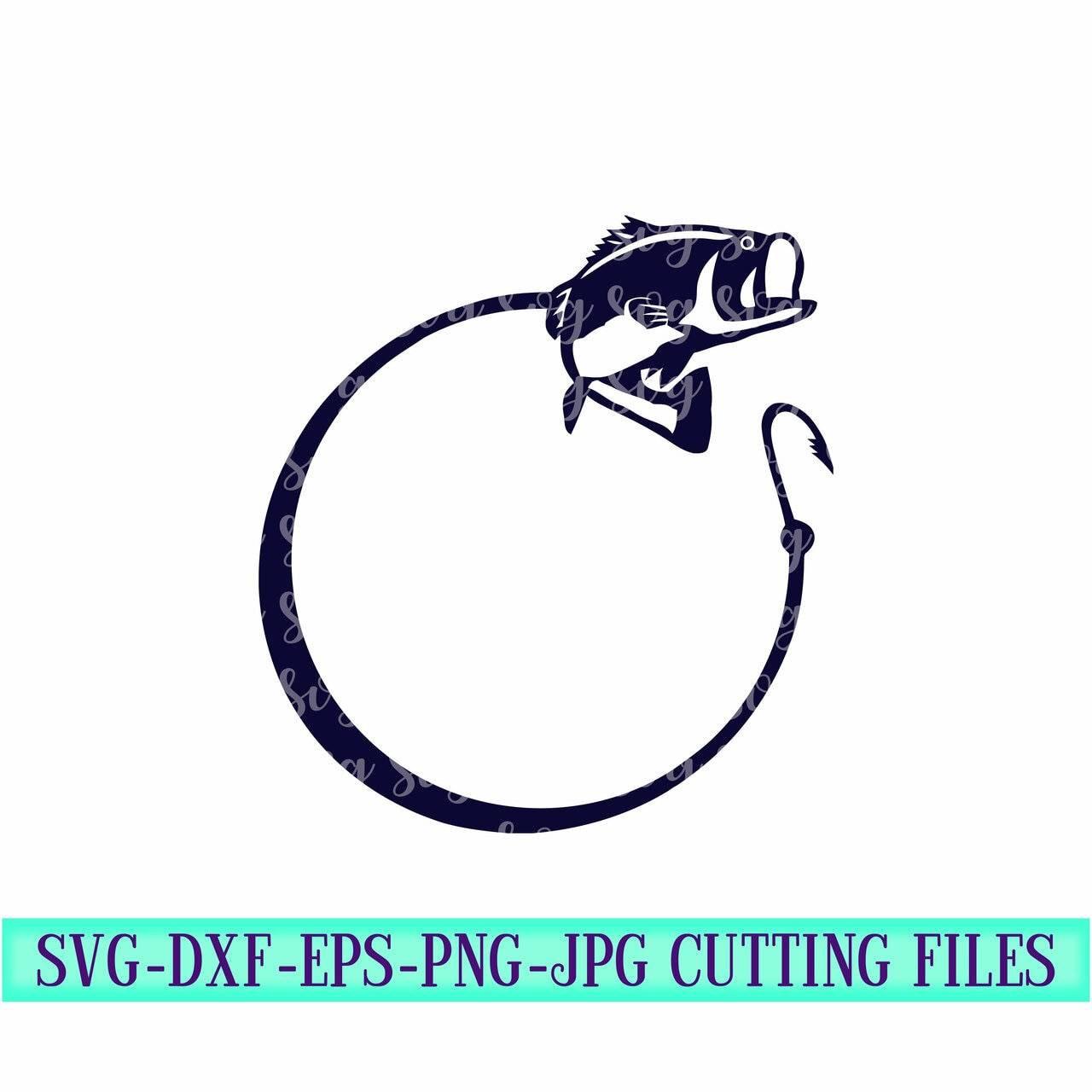 Download Fishing Monogram Bass Fish Svg Svg Monogram Fish Monogram Bass Monogram Svg Monogram Svg File Cut