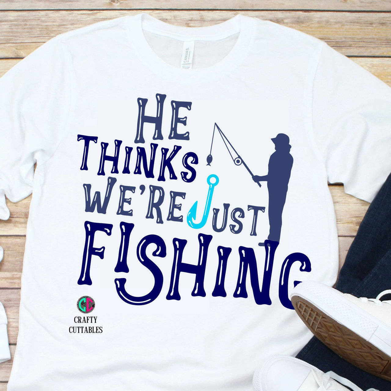 Download He Thinks We Re Just Fishing Svg Just Fishing Svg Fathers Day Svg Fathers Day Fathers Day Gift Fathers Shirt Fishing Svg Dad Svg Fishing