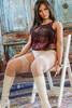 AsDoll Erica Fat Sex Doll 164cm BBW Hyper Realistic Chubby Lovedoll With Large Hips