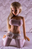 Wm Doll Barbara Large Breasts Sex Doll 100cm Lovely Manga Mini Doll