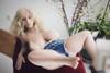 Wm Doll Amalie Curvy Sex Doll 108cm L-Cup Huge Breasts Realistic Chubby Sleeping Lovedoll