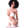 HR Doll Roxanne Sex Doll 140cm Medium Breasts E-Cup Realistic Brunette Teen Lovedoll
