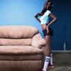 HR Doll Chantelle Black Sex Doll 165cm A-Cup Flat Chest Slim Body Ebony Lovedoll