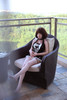 Gynoid Doll Jingjing 148cm Platinum Silicone Sex Doll Brunette Humanoid Robot