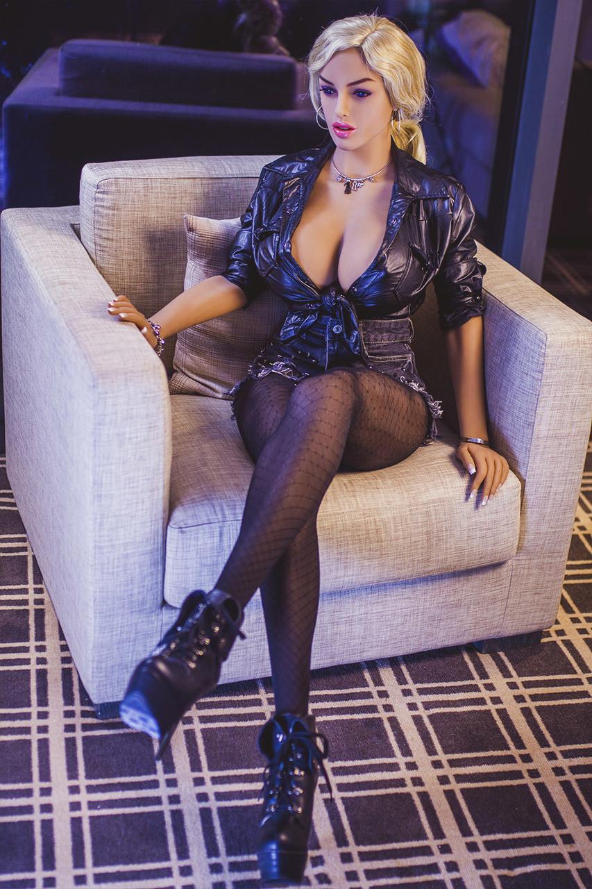 JY Doll Tiffany 166cm Sex Doll Hyper Realistic Hot Blonde Mature Lovedoll