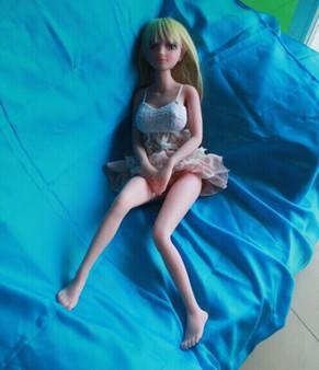 JM Doll Keely Sex Doll 80cm Hyper Realistic Platinum Silicone Elf Mini Lovedoll
