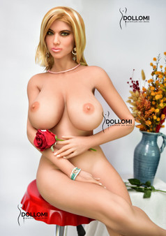 6YE Doll Ayla Premium Sex Doll 167cm K-Cup Huge Breasts Life Size Sexy Blonde Naked Lovedoll