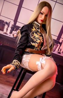 Sinodoll Isabella Sex Doll 155cm Big Breasts I+ Cup Platinum Silicone Life Size Lovedoll