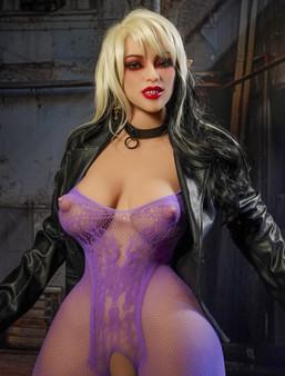 HR Doll Akasha Vampire Sex Doll 165cm E-Cup Big Breasts & Butt Cosplay Lovedoll