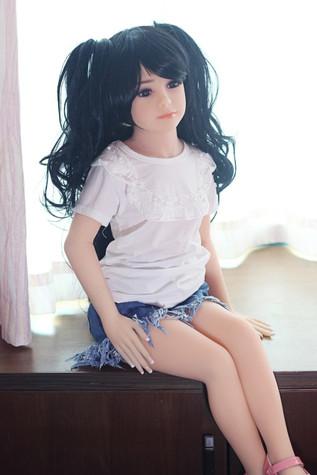 JY Doll Clarissa Sex Doll 100cm Flat Breasts