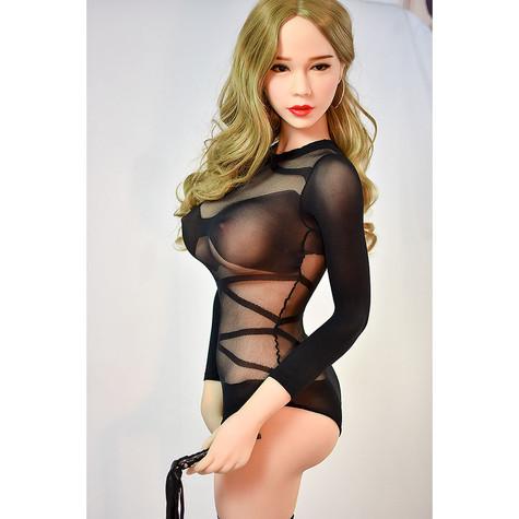 Photo Set of  6YE Doll Alejandra Sex Doll 165cm F-Cup  Hyper Realistic  Lovedoll With Black Lingerie    DOLLOMI   Premium Sex Dolls