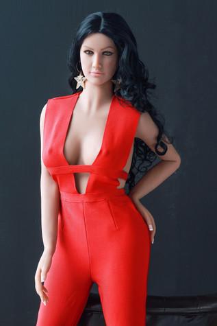 Jarliet Doll Kamala Sex Doll 165cm Small Breasts Life Size Realistic Lovedoll In Red Dress