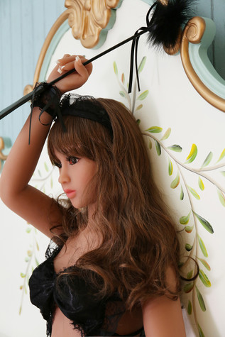Photo Set of  Racyme Jacqueline Sex Doll 158cm C-Cup Realistic Sexy Teen Lovedoll With Black Lingerie |  DOLLOMI | Premium Sex Dolls